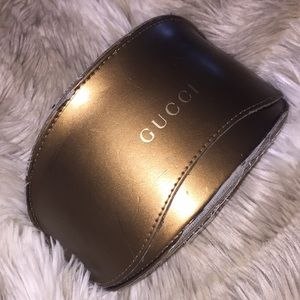 Authentic Gucci glasses case